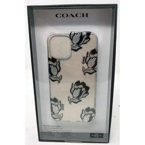 Coach Slim Clear Case for iPhone 12 Mini -Tulip